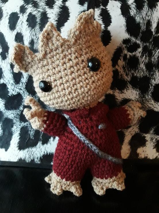 Bebé Groot Amigurumi Crochet peluche guardianes de la galaxia ... | 737x553